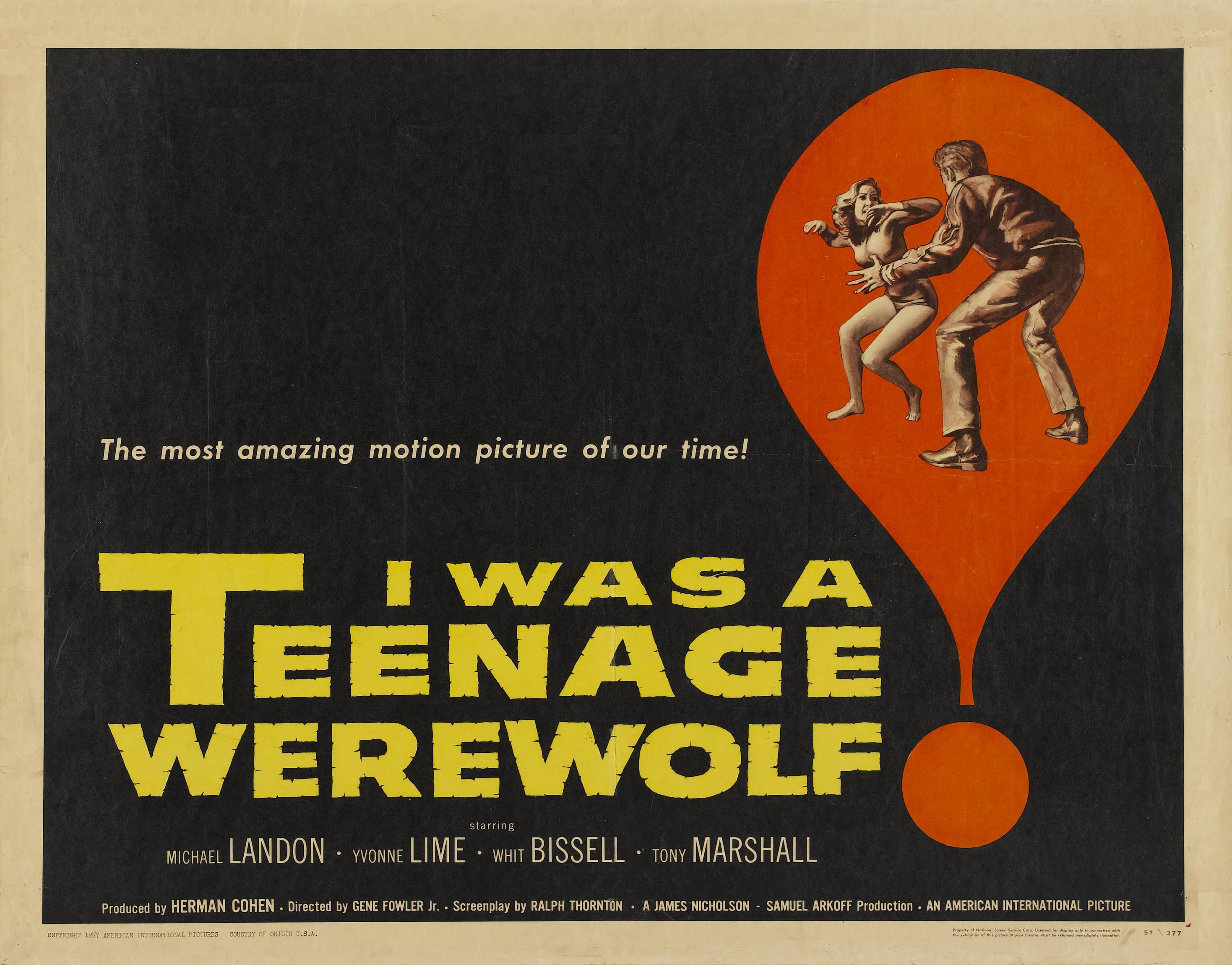 Images of I Was A Teenage Werewolf | 2937x2301
