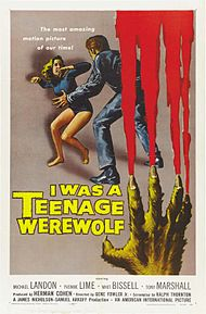 Nice Images Collection: I Was A Teenage Werewolf Desktop Wallpapers
