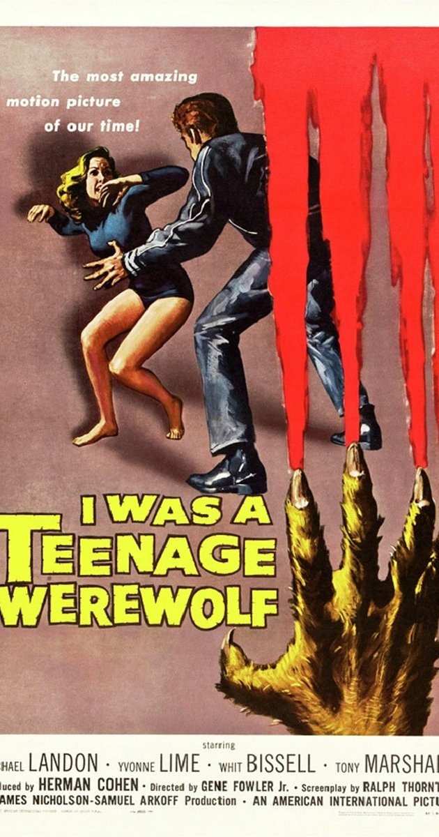 630x1200 > I Was A Teenage Werewolf Wallpapers