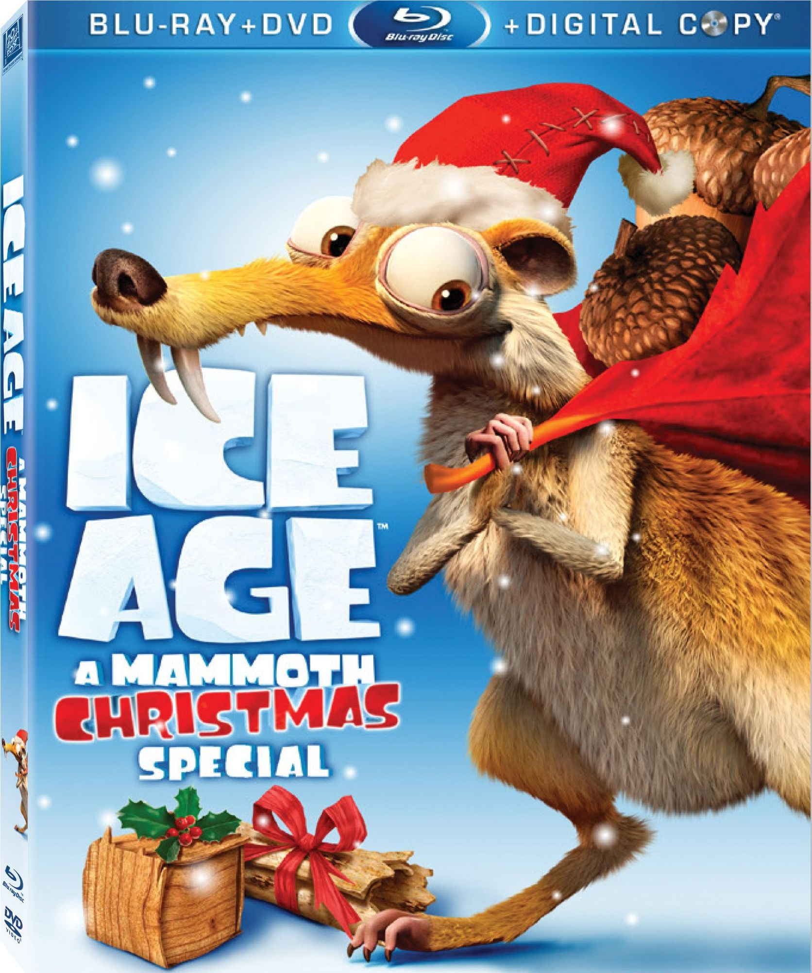High Resolution Wallpaper | Ice Age: A Mammoth Christmas 1672x2004 px