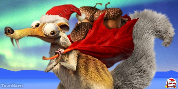 High Resolution Wallpaper | Ice Age: A Mammoth Christmas 600x300 px