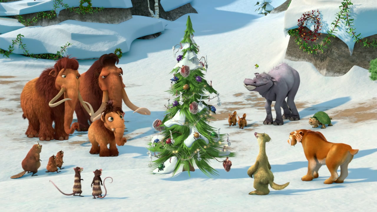 Nice Images Collection: Ice Age: A Mammoth Christmas Desktop Wallpapers
