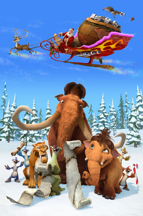 HD Quality Wallpaper | Collection: Movie, 455x686 Ice Age: A Mammoth Christmas
