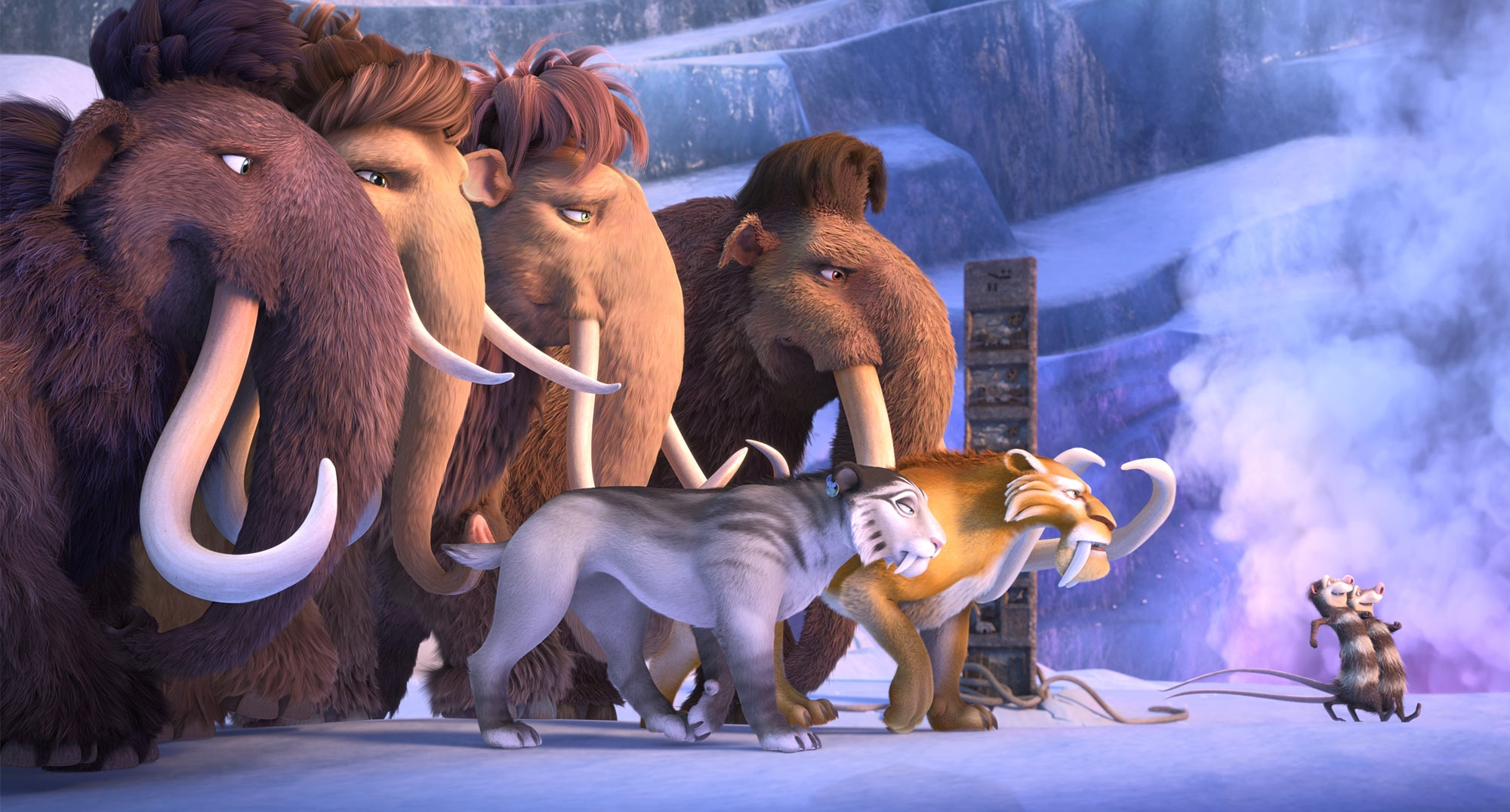 High Resolution Wallpaper | Ice Age: Collision Course 2000x1076 px