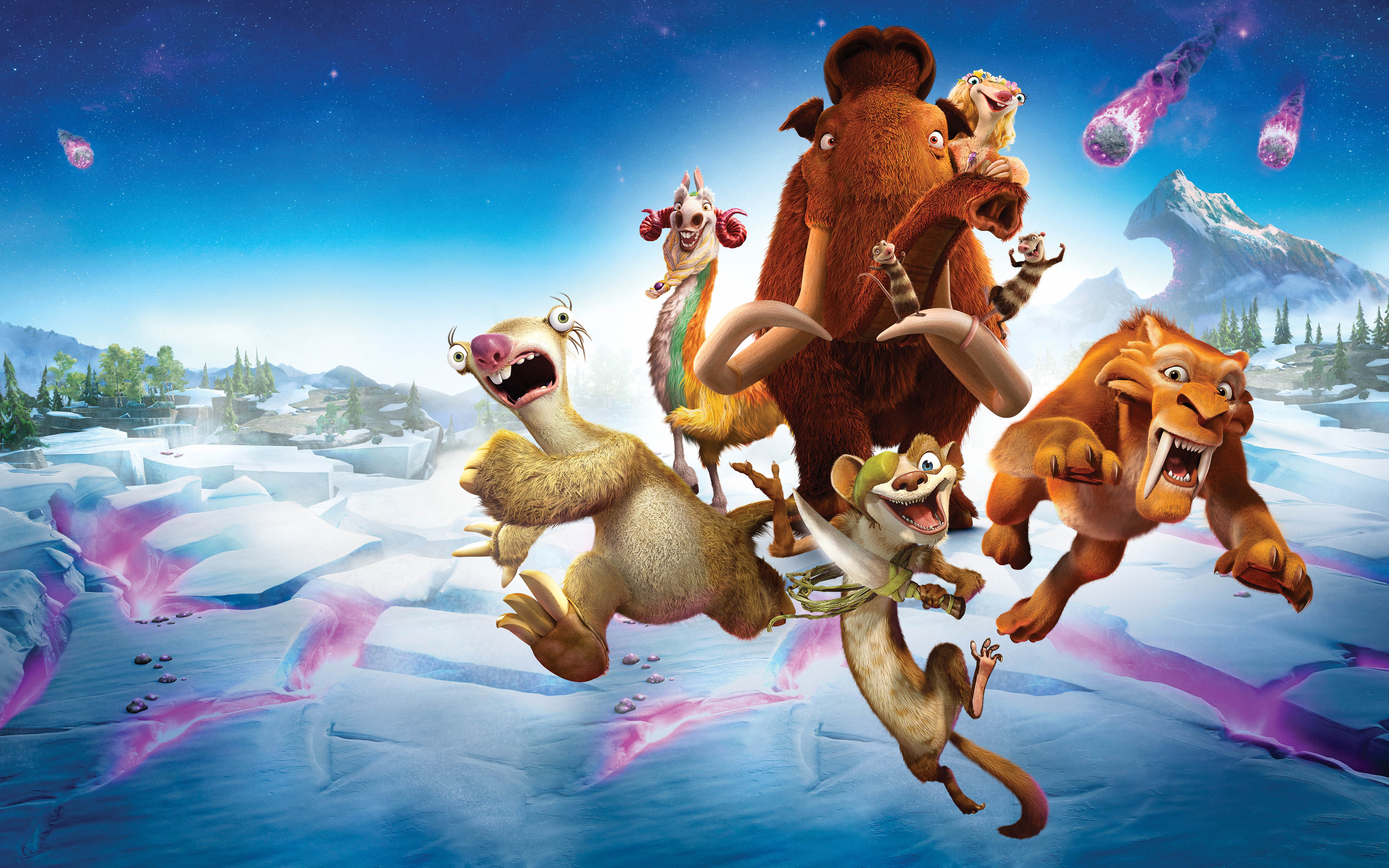 Nice wallpapers Ice Age: Collision Course 3840x2400px