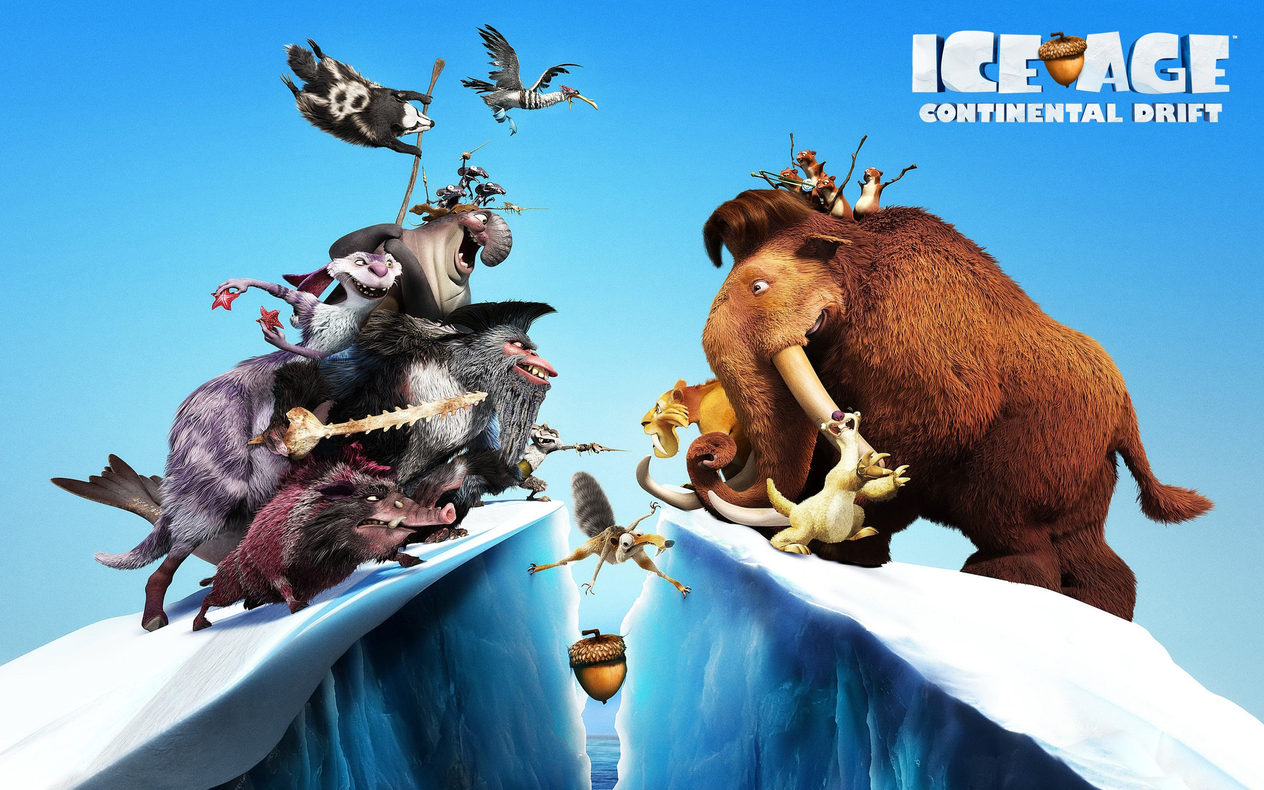 Nice wallpapers Ice Age: Continental Drift 2560x1600px