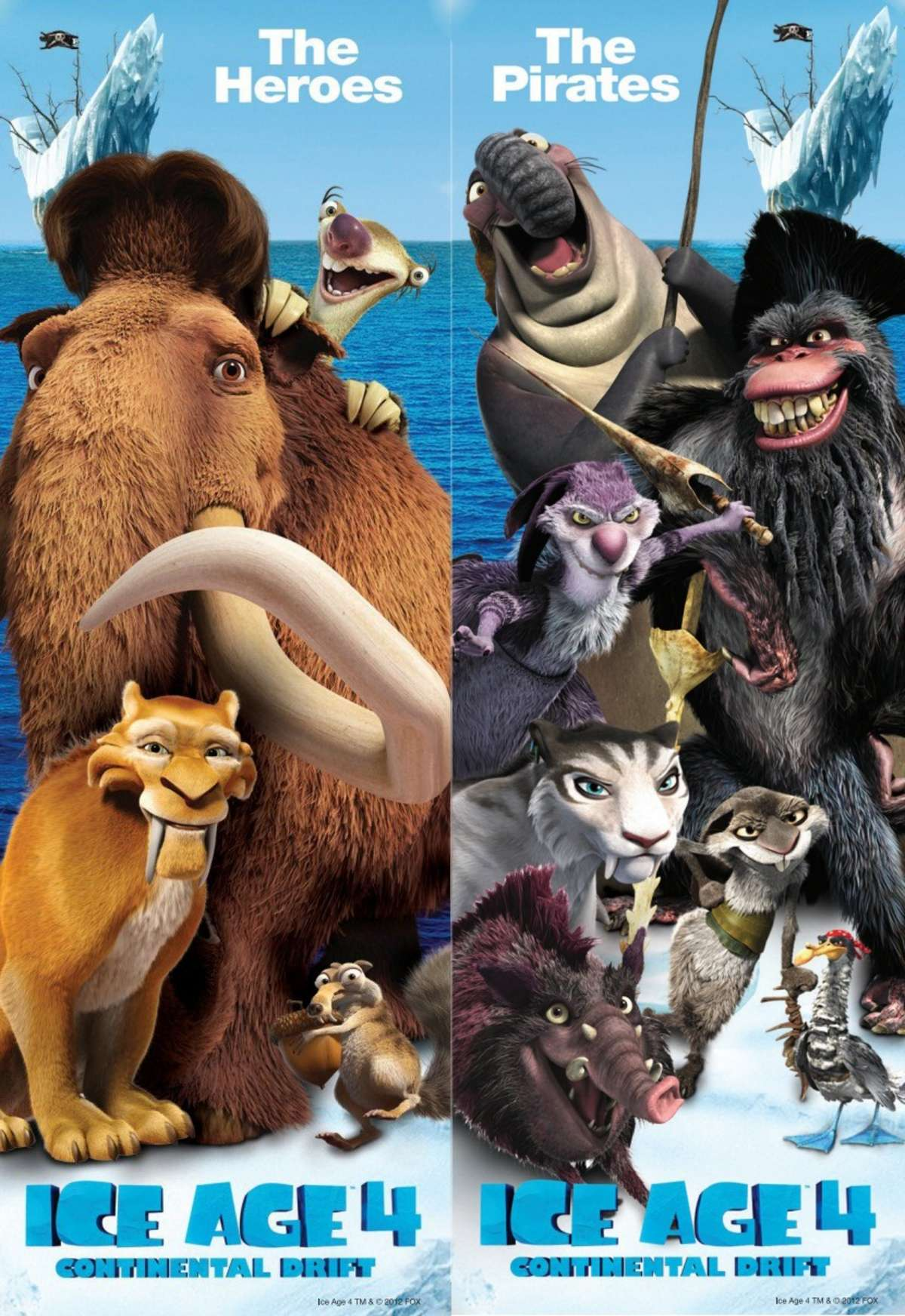 1200x1744 > Ice Age: Continental Drift Wallpapers