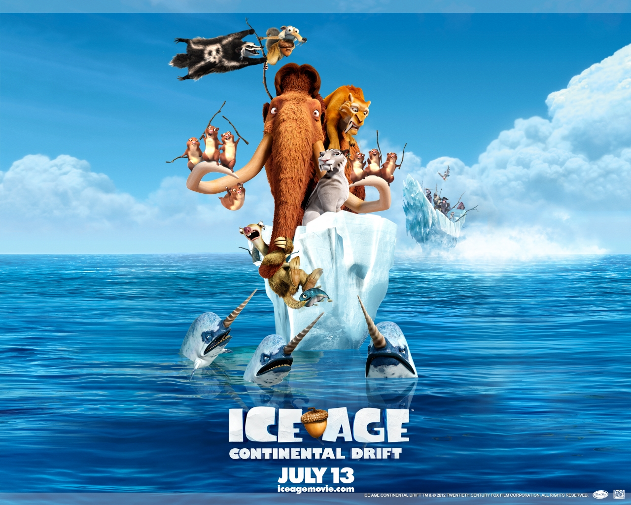 Ice Age: Continental Drift High Quality Background on Wallpapers Vista