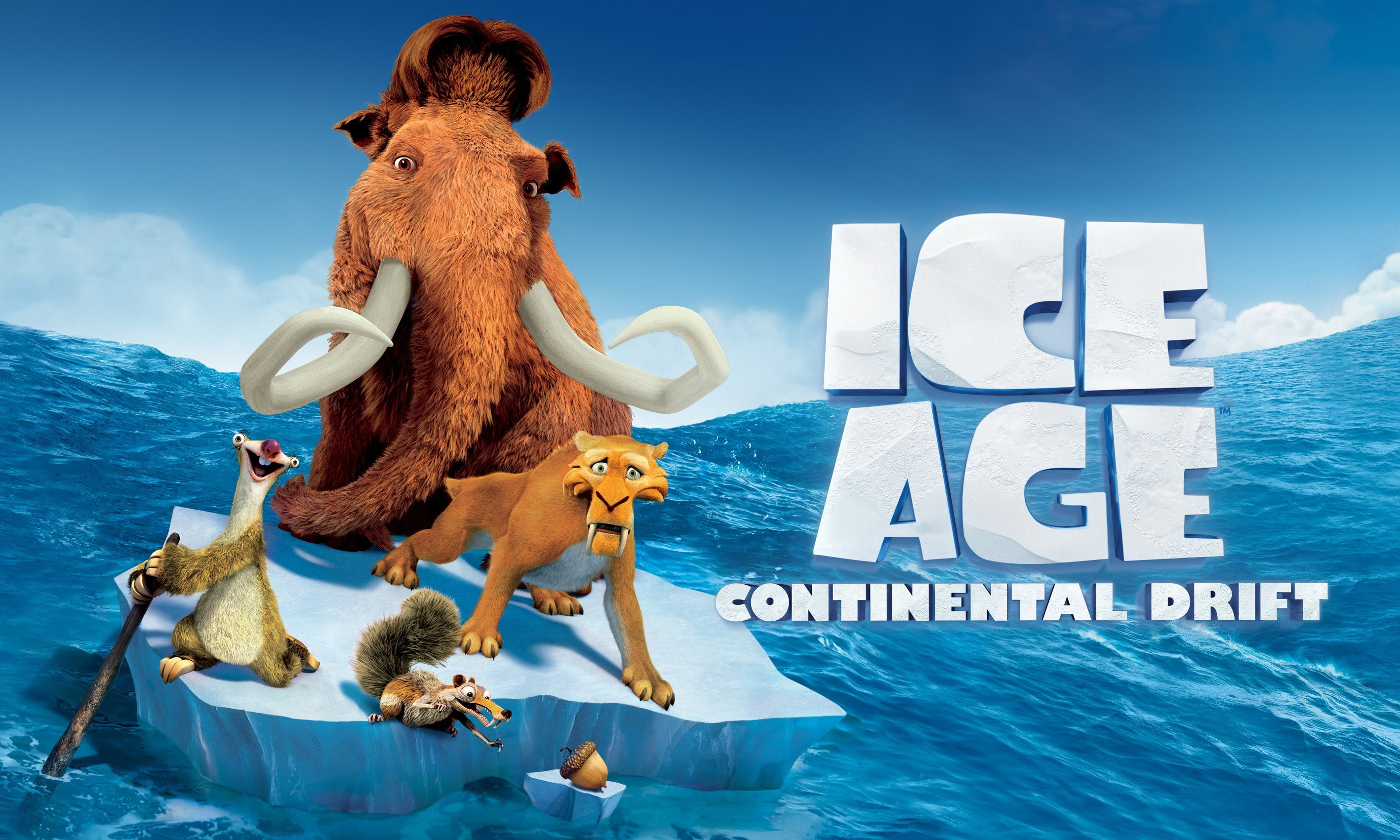 High Resolution Wallpaper | Ice Age: Continental Drift 2835x1701 px