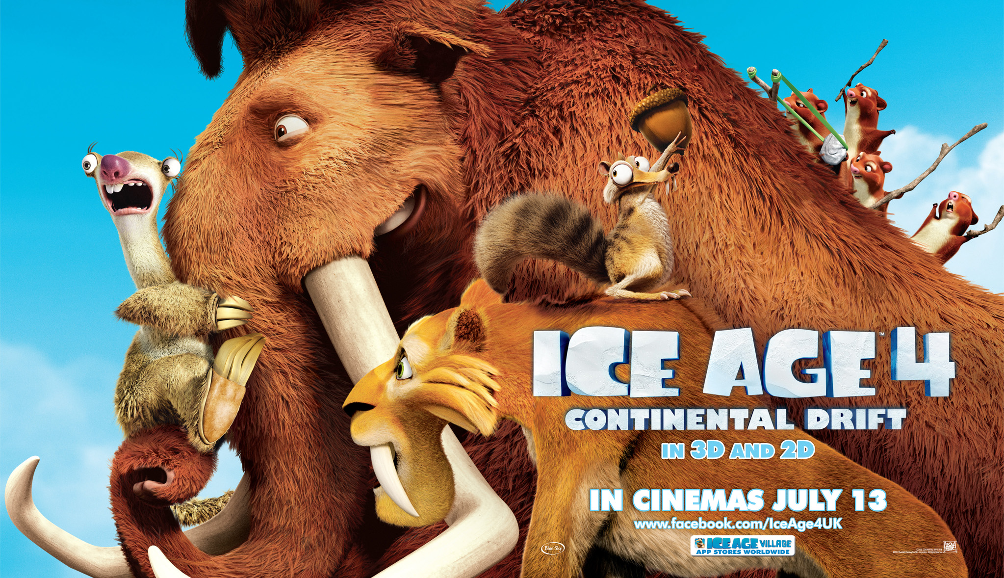 Ice Age: Continental Drift Backgrounds, Compatible - PC, Mobile, Gadgets| 2047x1178 px