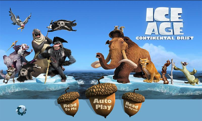 HD Quality Wallpaper | Collection: Movie, 800x480 Ice Age: Continental Drift