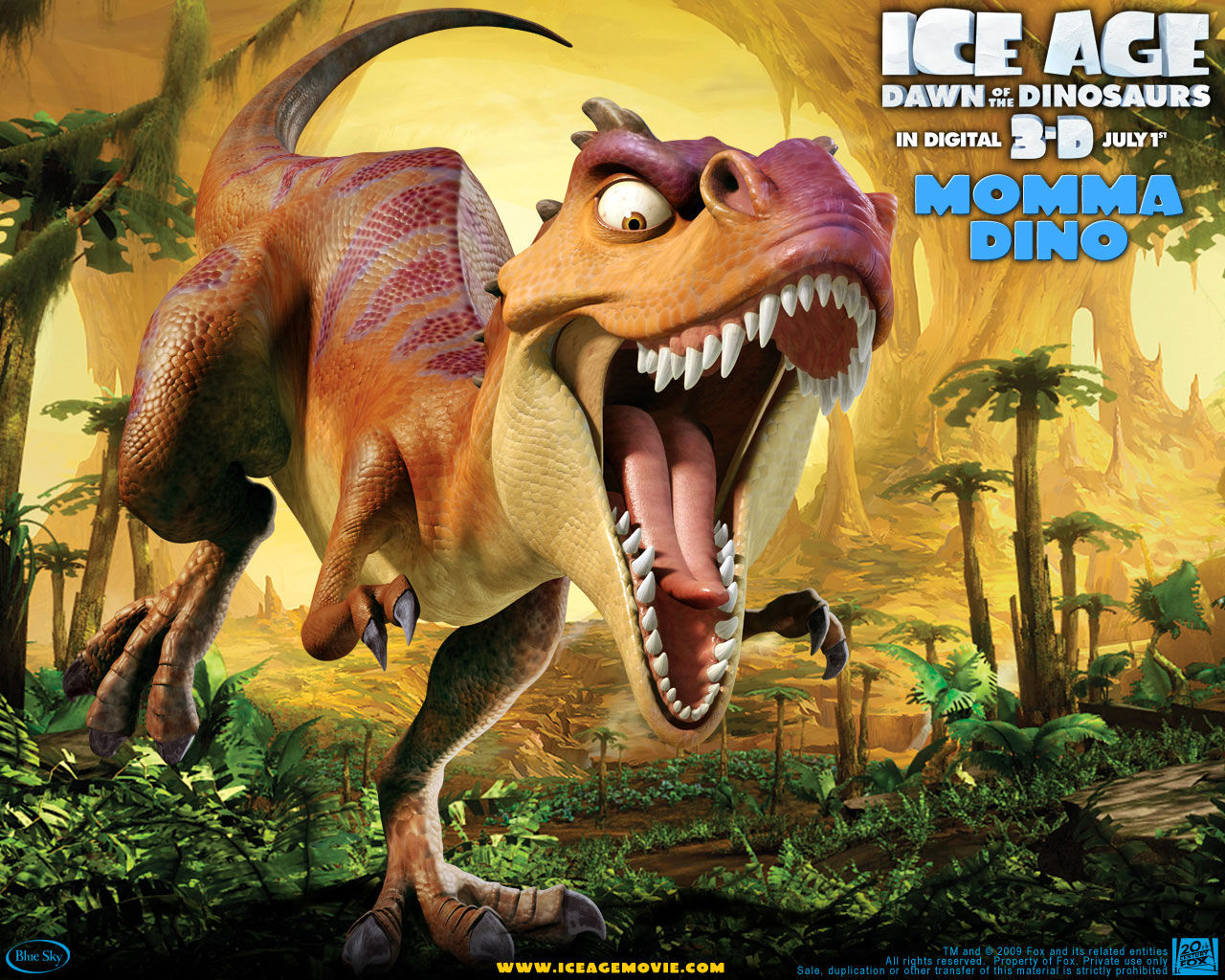 Ice Age: Dawn Of The Dinosaurs Backgrounds on Wallpapers Vista