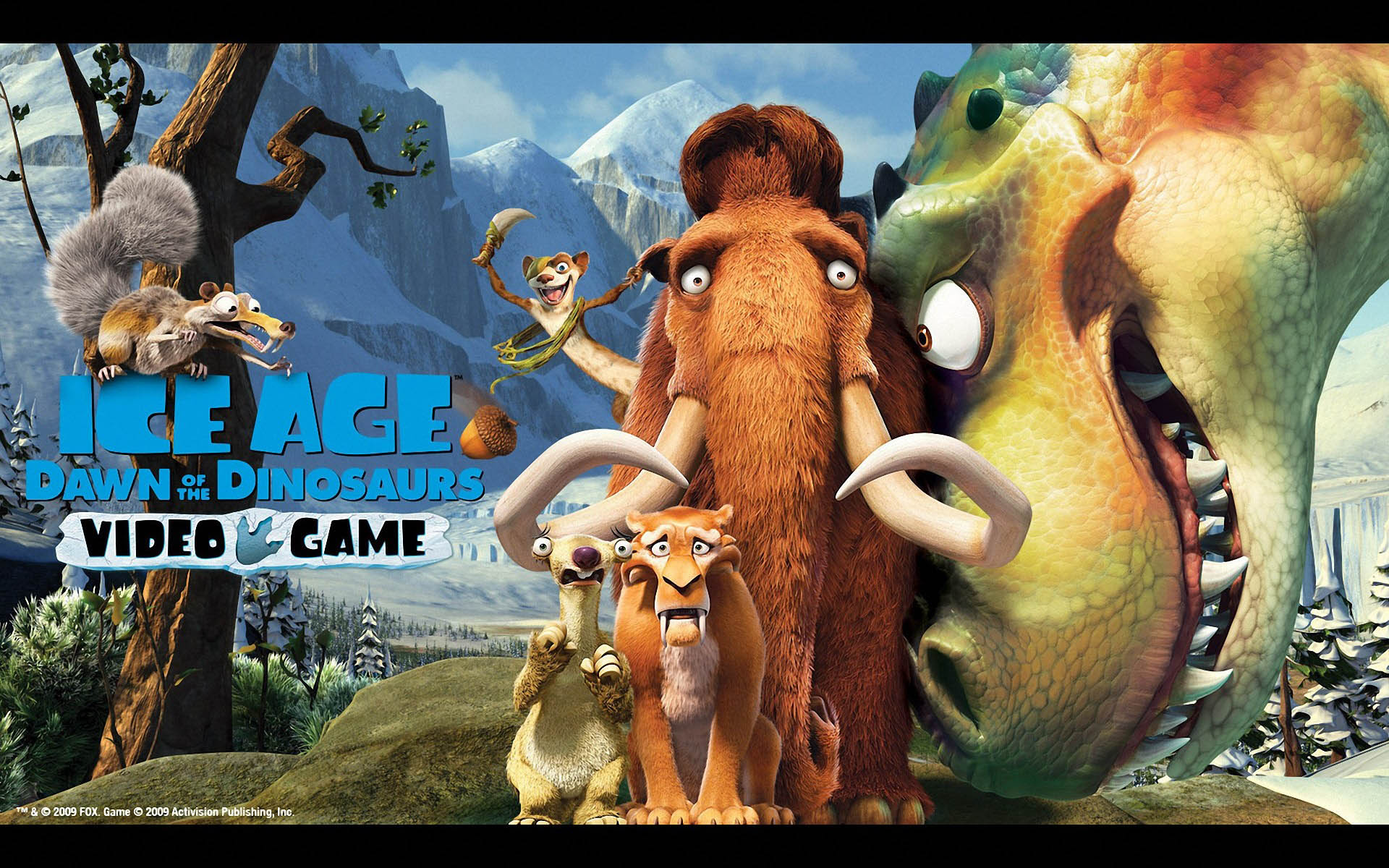 1920x1200 > Ice Age: Dawn Of The Dinosaurs Wallpapers