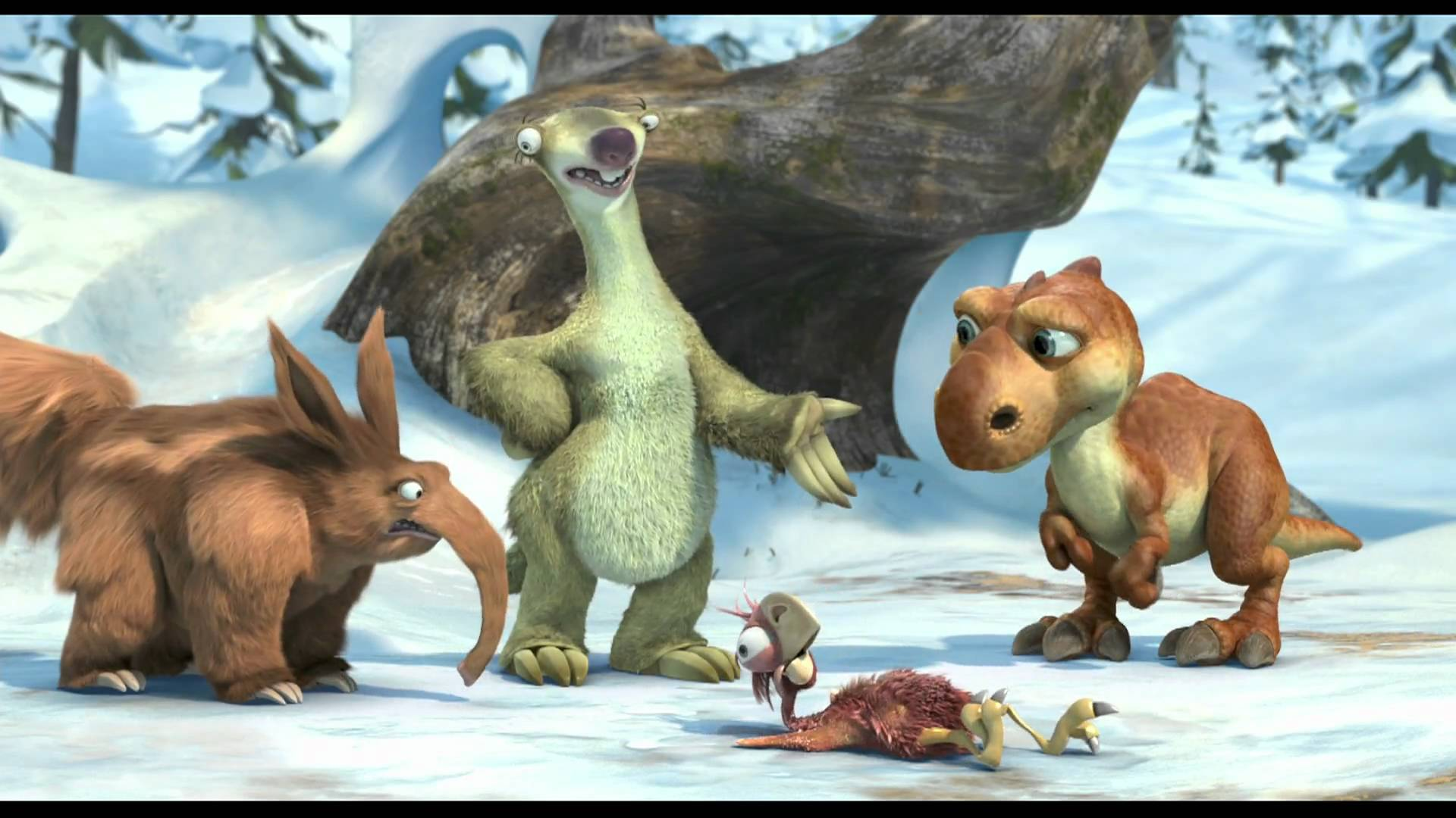 HD Quality Wallpaper | Collection: Movie, 1920x1080 Ice Age: Dawn Of The Dinosaurs