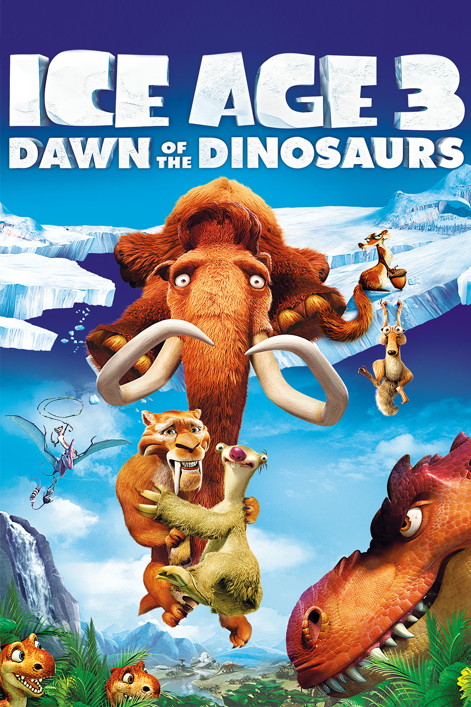 Images of Ice Age: Dawn Of The Dinosaurs | 960x1440