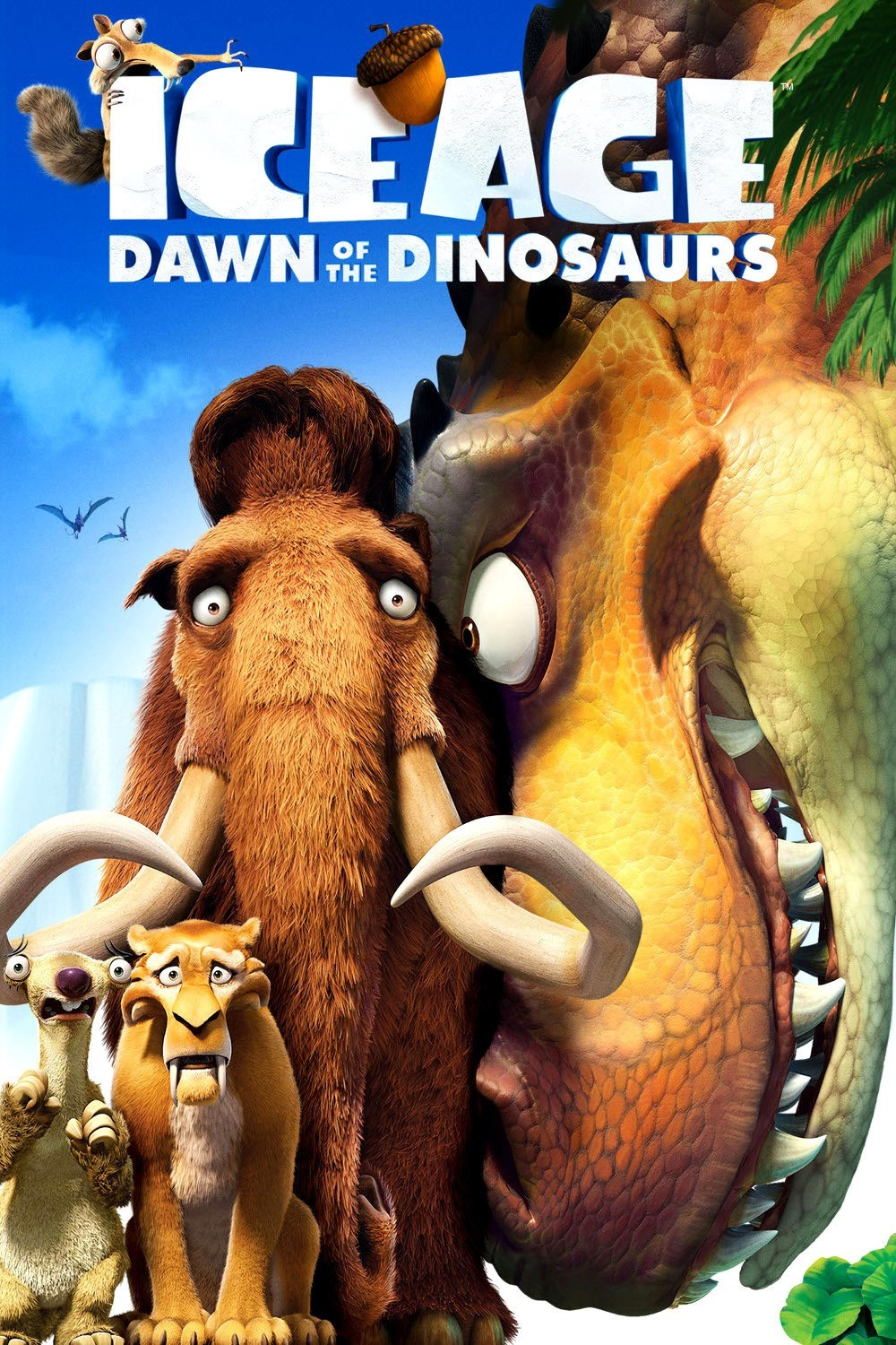 Nice wallpapers Ice Age: Dawn Of The Dinosaurs 1000x1500px