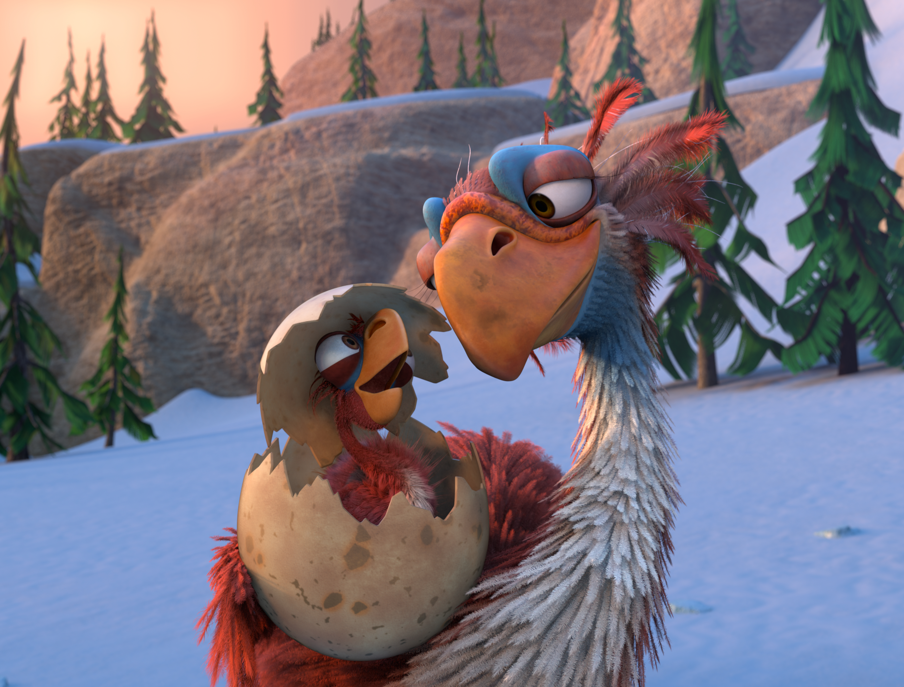 HD Quality Wallpaper | Collection: Movie, 3554x2700 Ice Age: The Great Egg-Scapade