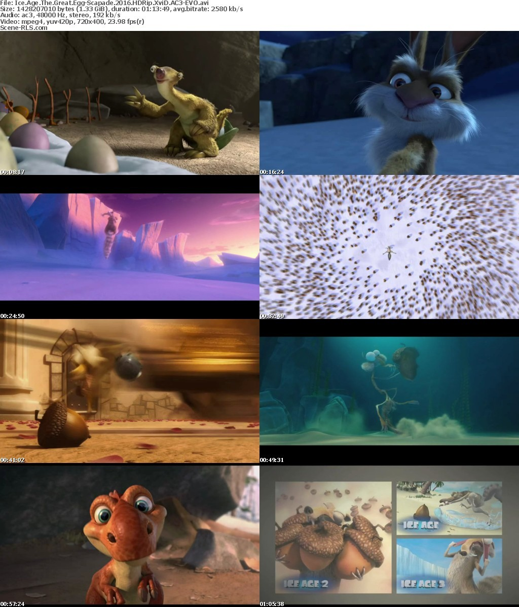 Nice wallpapers Ice Age: The Great Egg-Scapade 1024x1197px