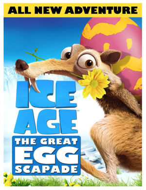 HD Quality Wallpaper | Collection: Movie, 300x392 Ice Age: The Great Egg-Scapade