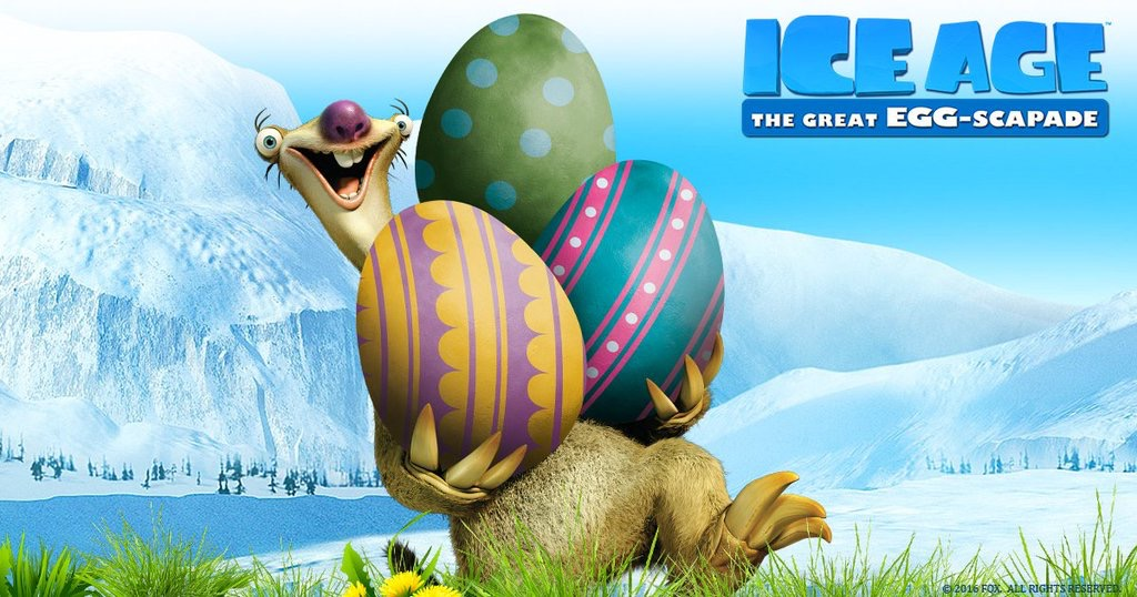 High Resolution Wallpaper | Ice Age: The Great Egg-Scapade 1024x538 px