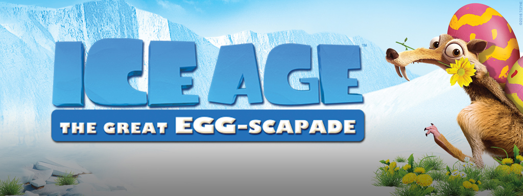 HD Quality Wallpaper | Collection: Movie, 1024x384 Ice Age: The Great Egg-Scapade