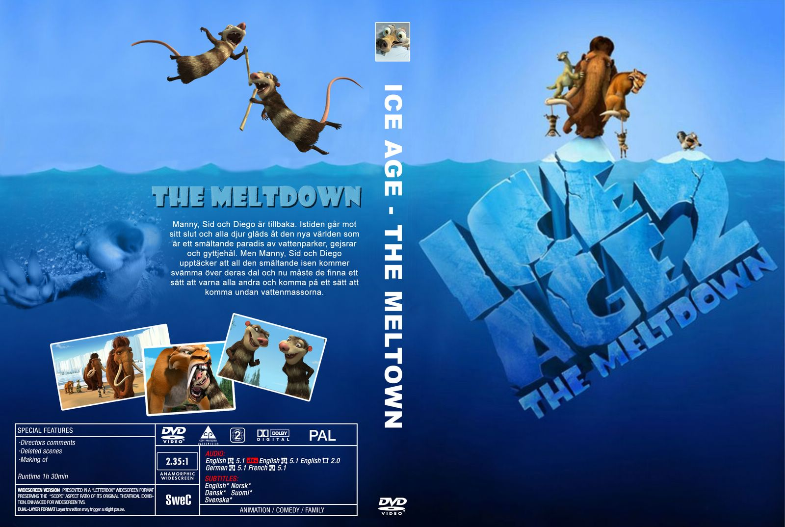 1600x1074 > Ice Age: The Meltdown Wallpapers