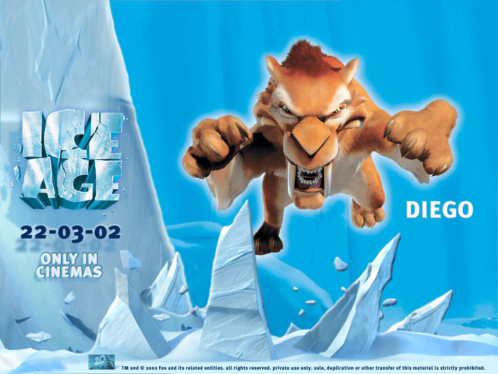 High Resolution Wallpaper | Ice Age: The Meltdown 1024x768 px