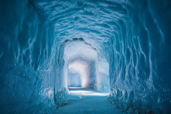 Nice Images Collection: Ice Cave Desktop Wallpapers