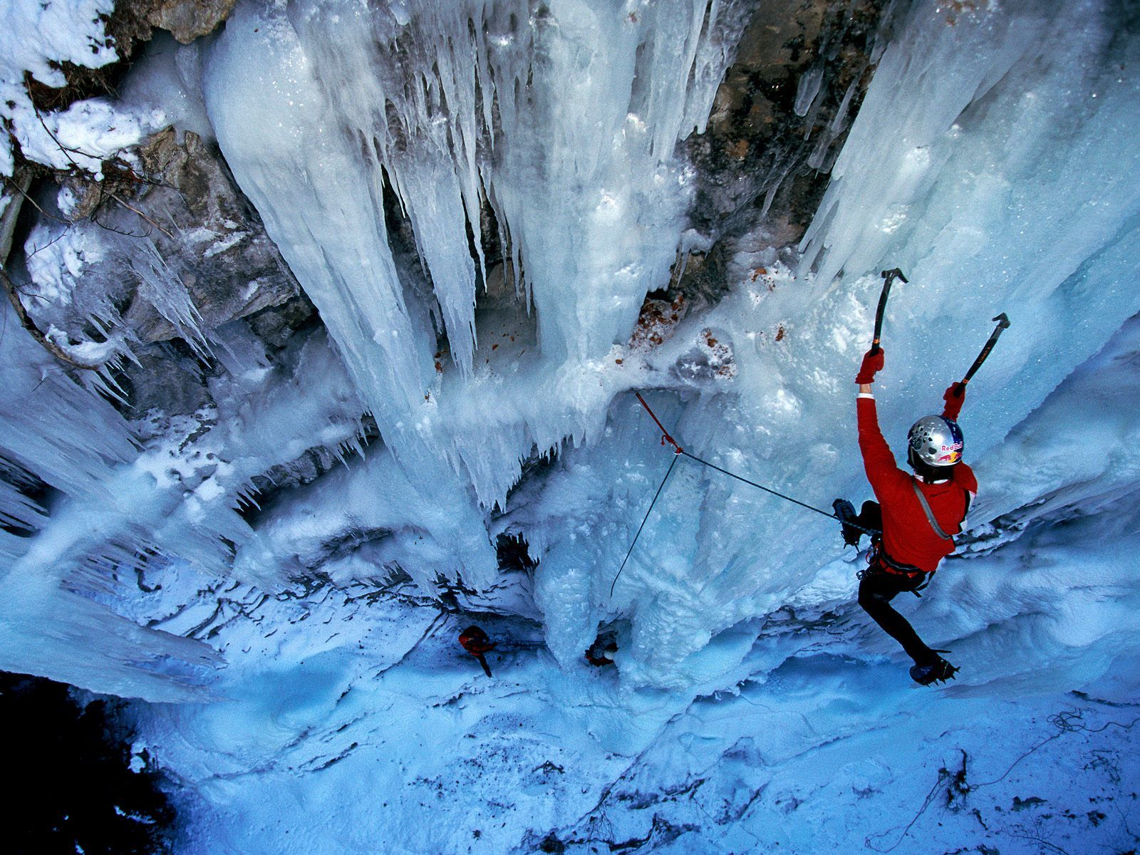 HD Quality Wallpaper | Collection: Sports, 1600x1200 Ice Climbing