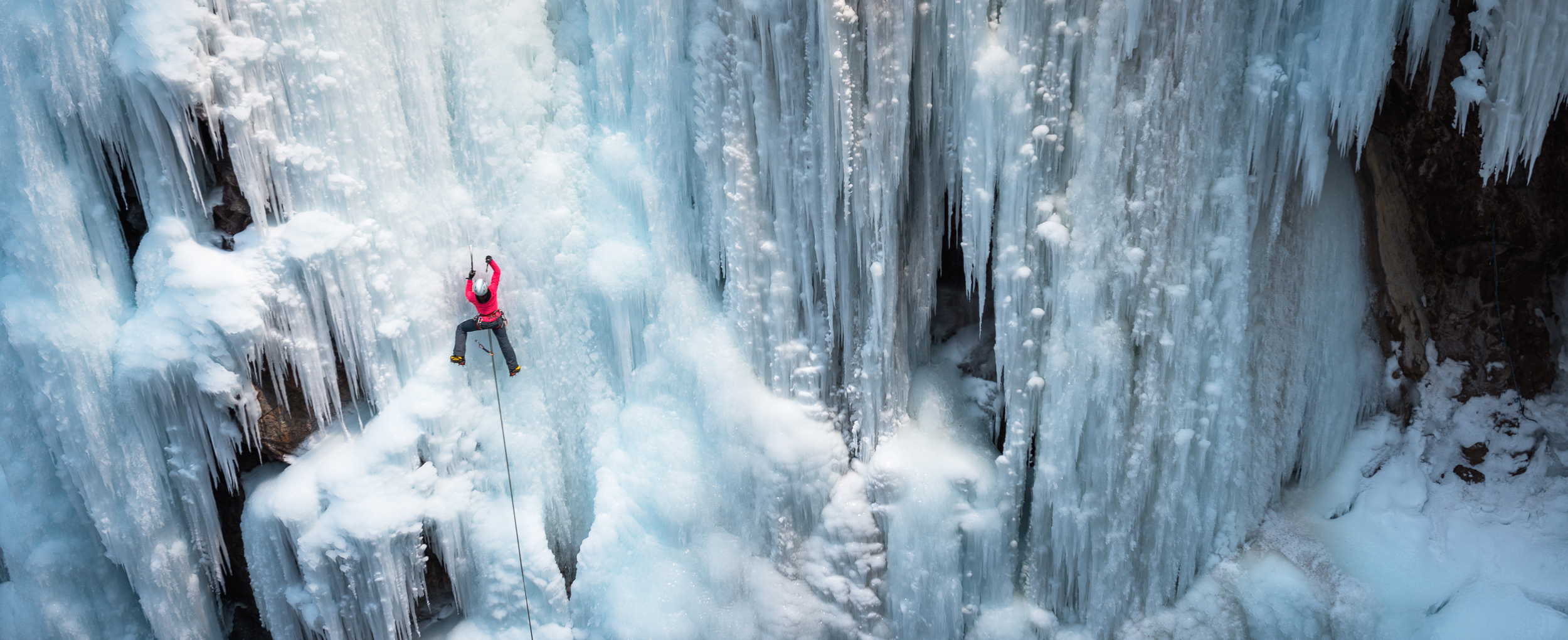 2500x1020 > Ice Climbing Wallpapers