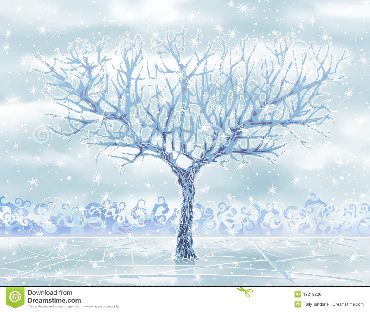 HD Quality Wallpaper   Collection: Abstract, 1300x1094 Ice Tree