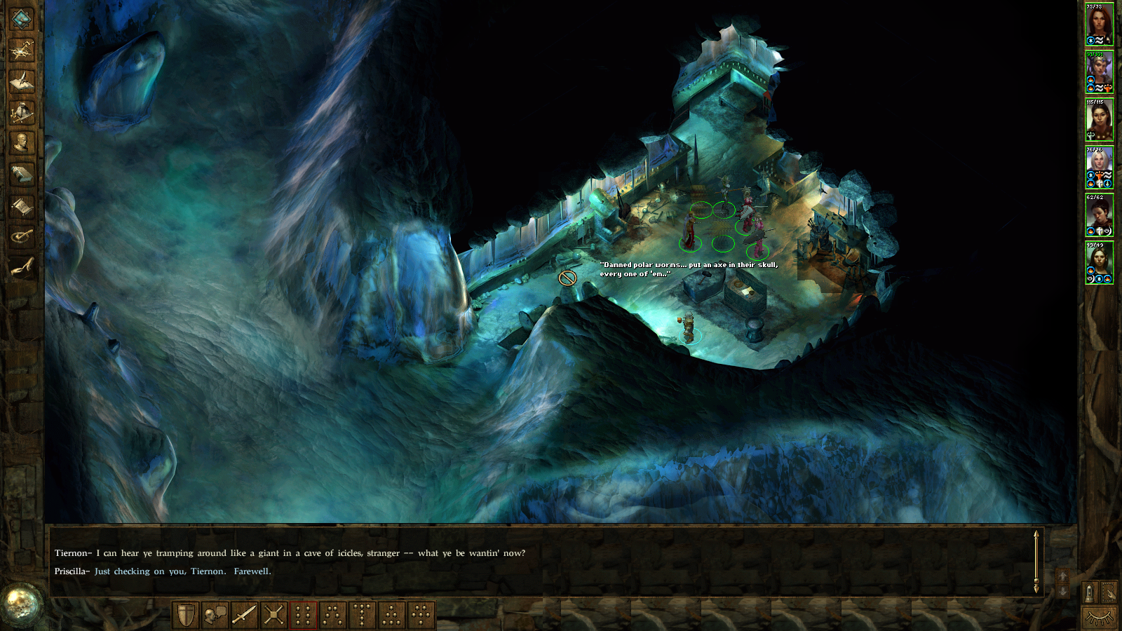 Nice Images Collection: Icewind Dale: Heart Of Winter Desktop Wallpapers