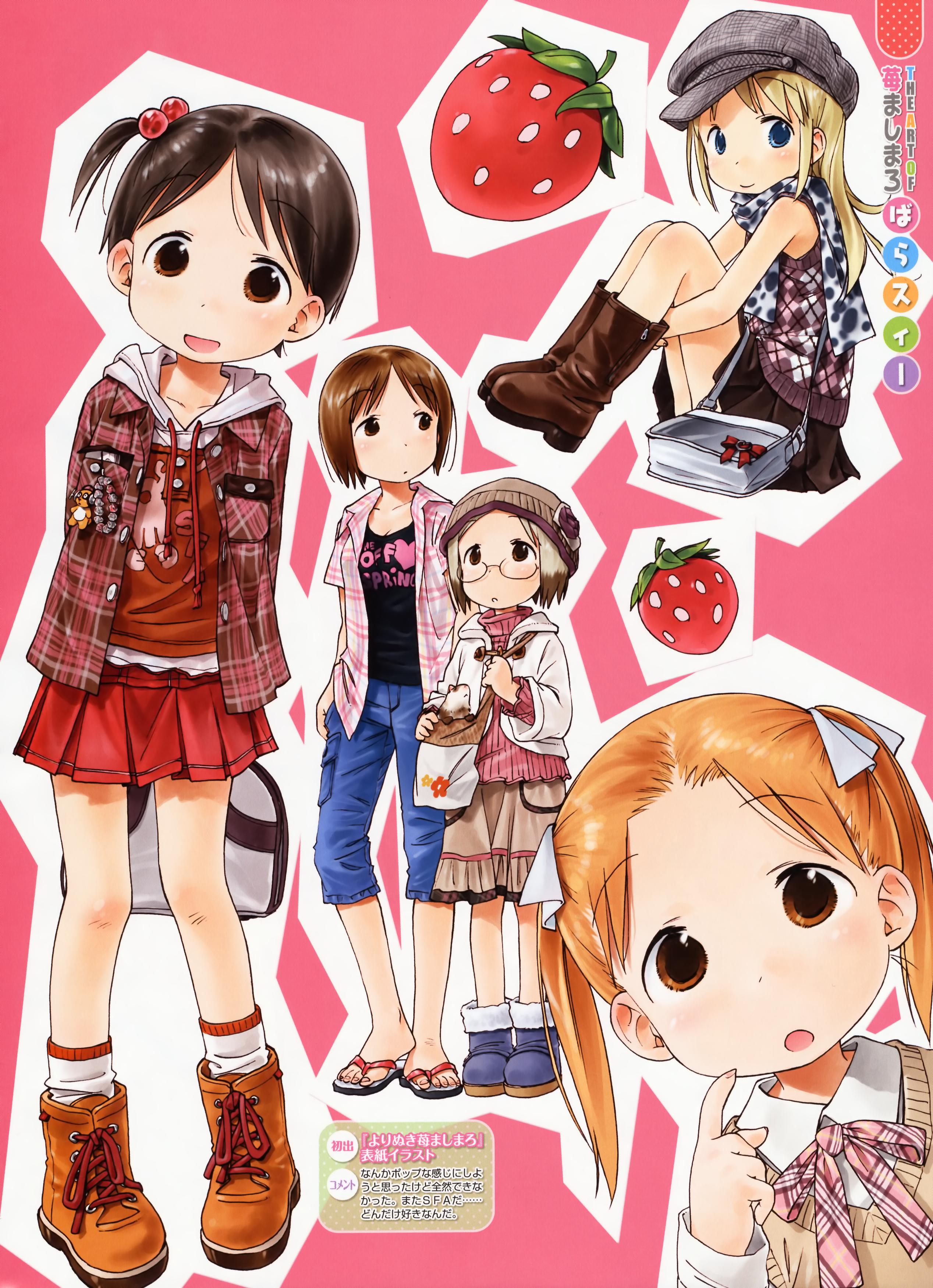 Ichigo Mashimaro Backgrounds, Compatible - PC, Mobile, Gadgets| 2536x3500 px