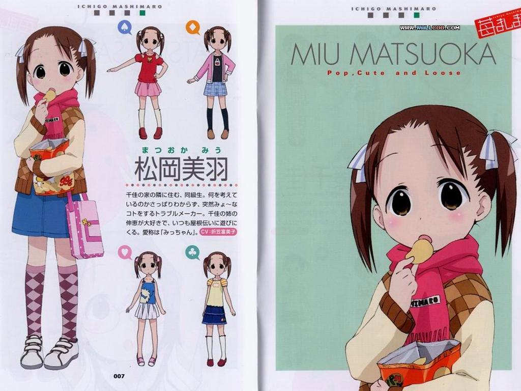 Ichigo Mashimaro High Quality Background on Wallpapers Vista