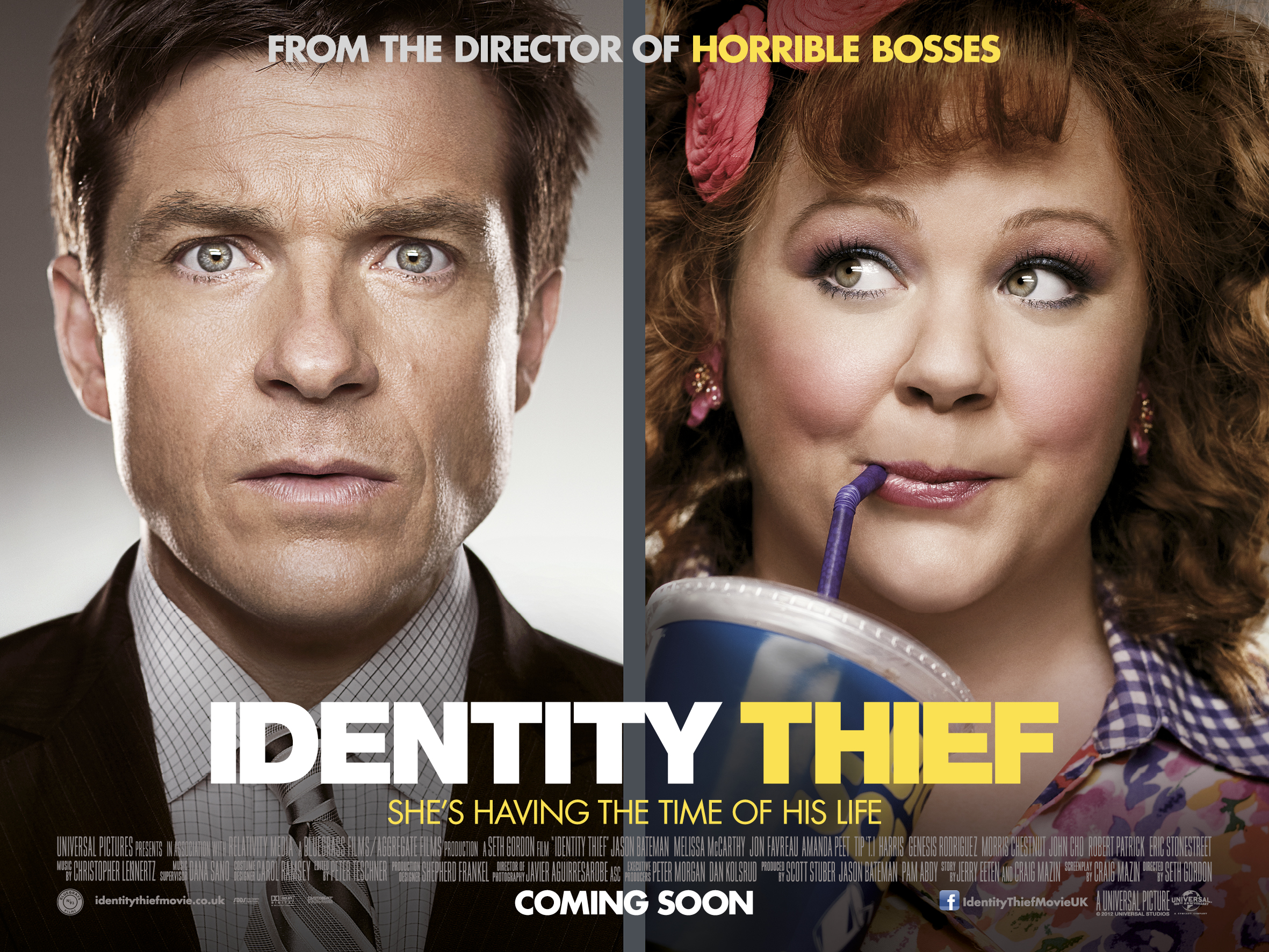 HD Quality Wallpaper | Collection: Movie, 2362x1772 Identity Thief