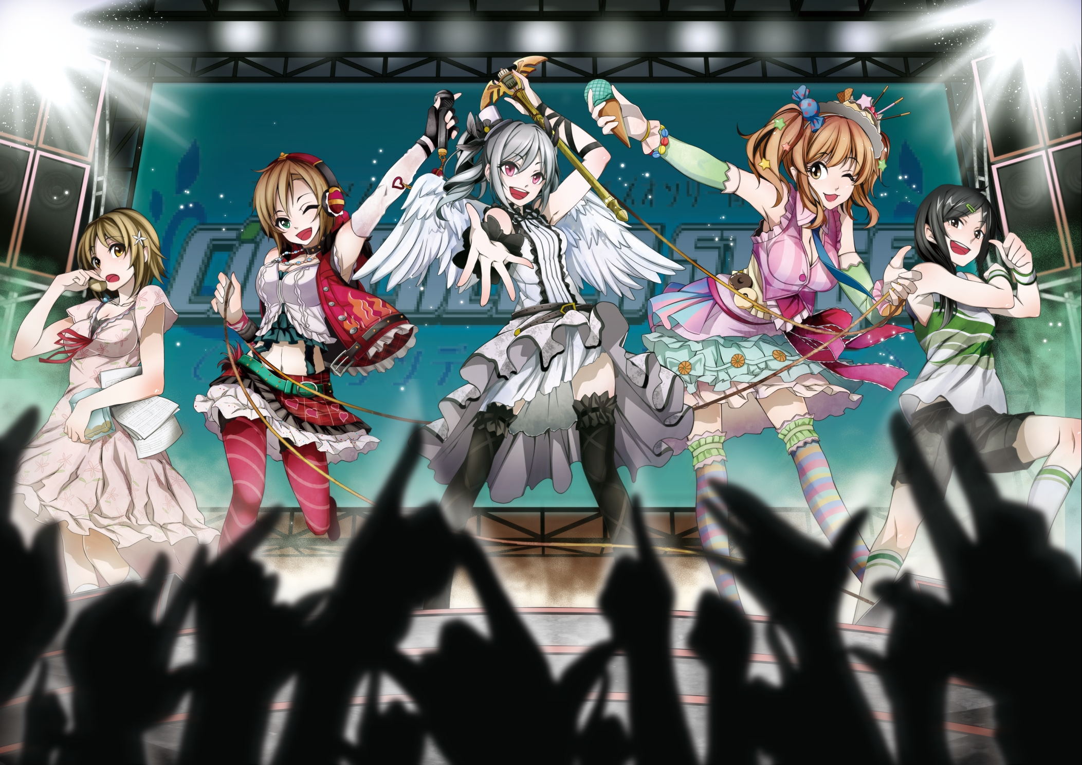 IDOLM@STER Cinderella Girls High Quality Background on Wallpapers Vista