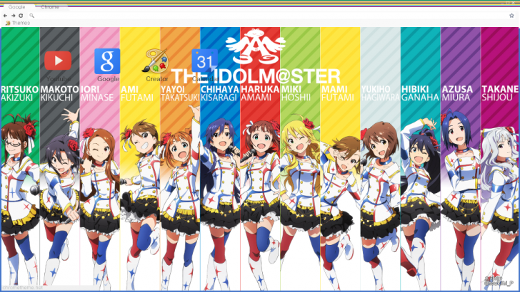 Nice wallpapers IDOLM@STER 728x410px