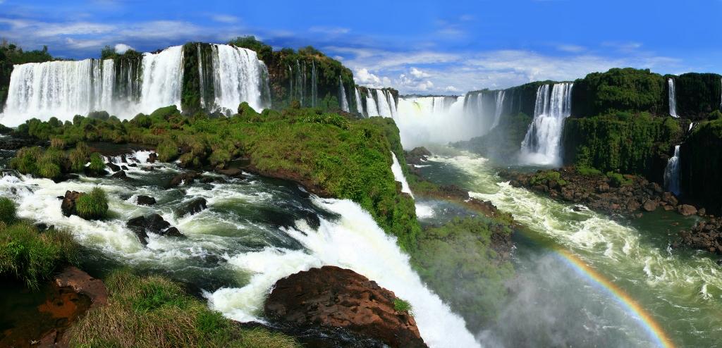 Nice Images Collection: Iguazu Falls Desktop Wallpapers