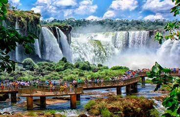 HQ Iguazu Falls Wallpapers   File 24.33Kb