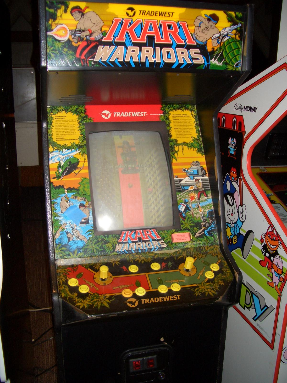Ikari Warriors Pics, Video Game Collection