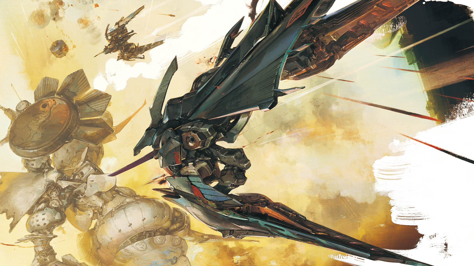 Ikaruga Backgrounds, Compatible - PC, Mobile, Gadgets| 1920x1080 px
