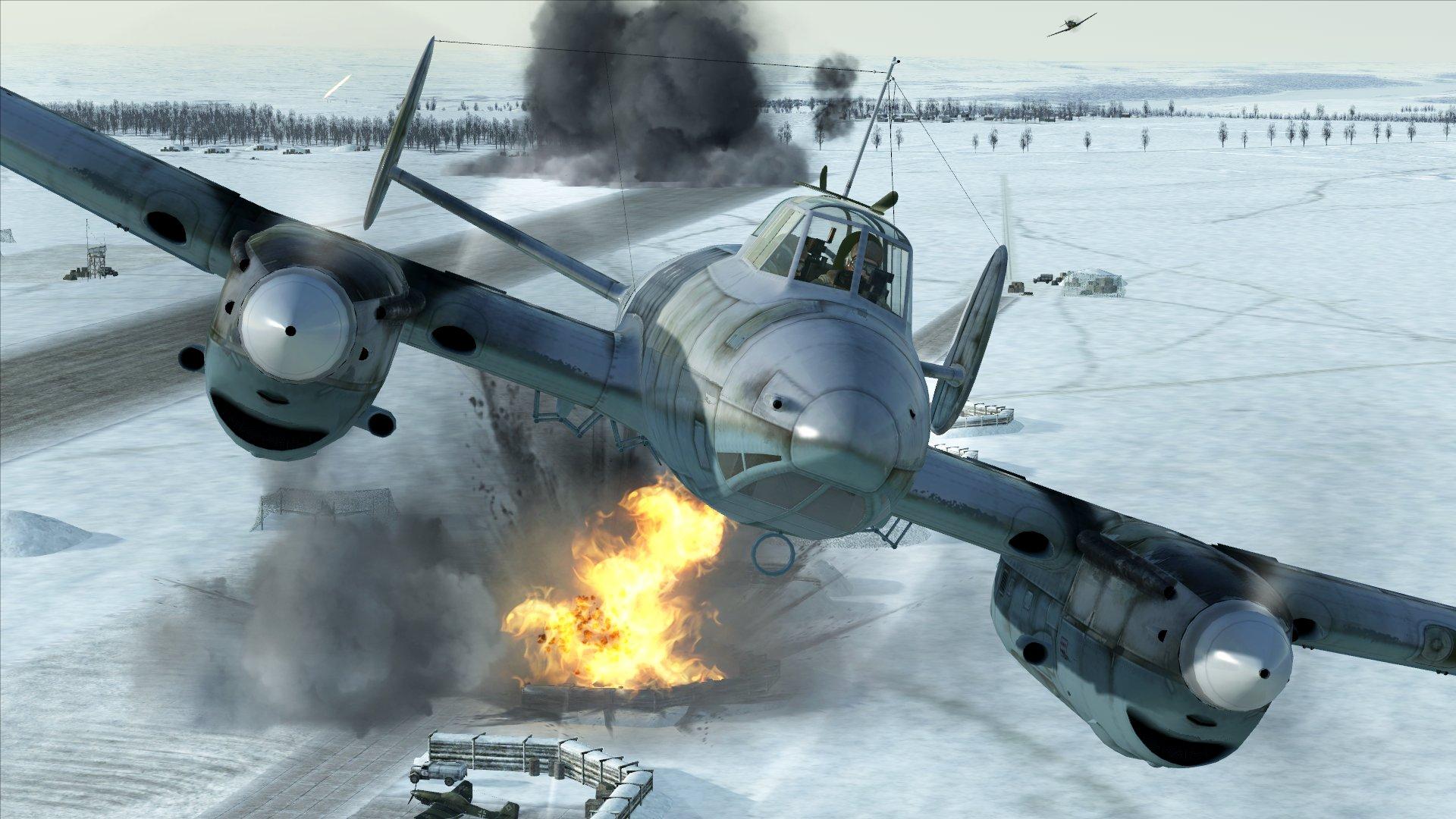 High Resolution Wallpaper | IL-2 Sturmovik: Battle Of Stalingrad 1920x1080 px