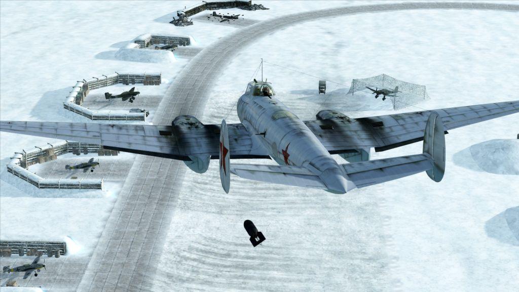 High Resolution Wallpaper | IL-2 Sturmovik: Battle Of Stalingrad 1024x576 px