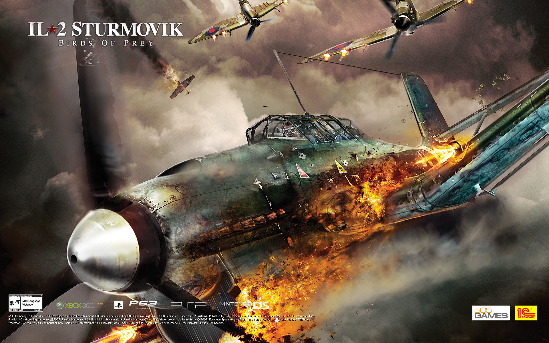 HD Quality Wallpaper | Collection: Video Game, 1920x1200 IL-2 Sturmovik: Birds Of Prey