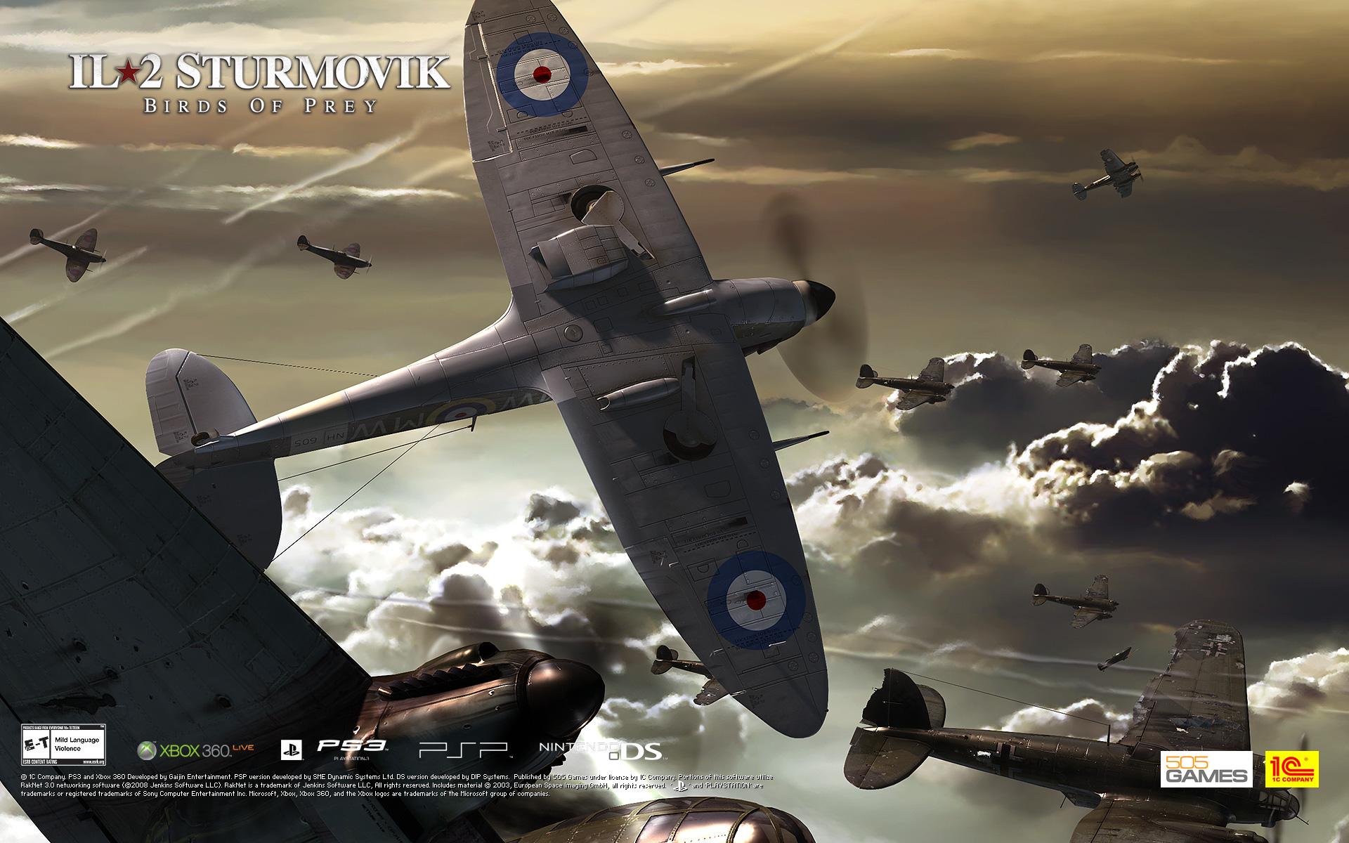 HQ IL-2 Sturmovik: Birds Of Prey Wallpapers | File 594.59Kb