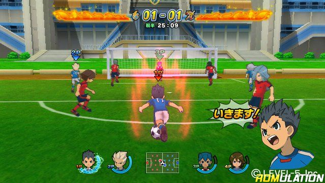 HD Quality Wallpaper | Collection: Video Game, 639x360 Inazuma Eleven Strikers