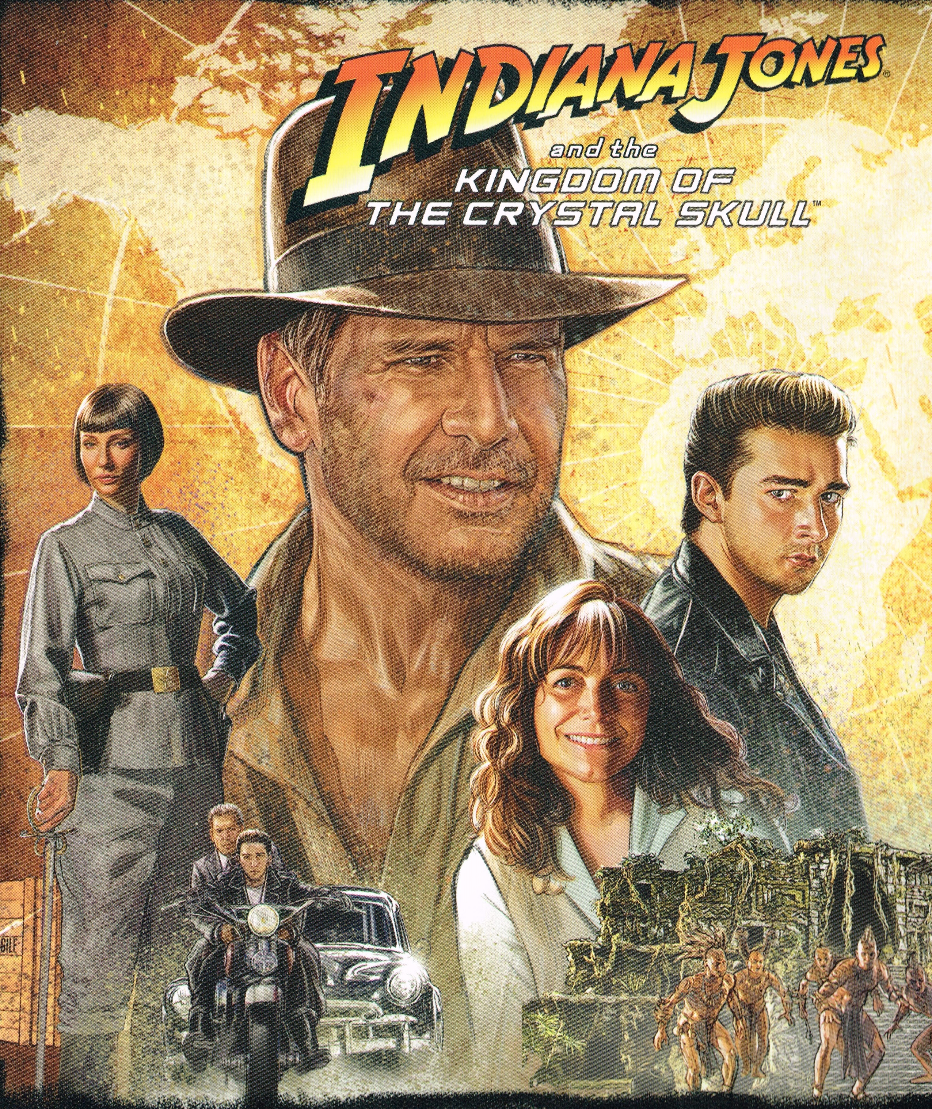 Indiana Jones And The Kingdom Of The Crystal Skull ...
