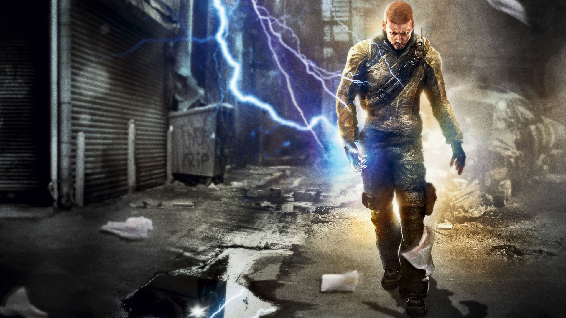 HD Quality Wallpaper | Collection: Video Game, 1920x1080 InFAMOUS