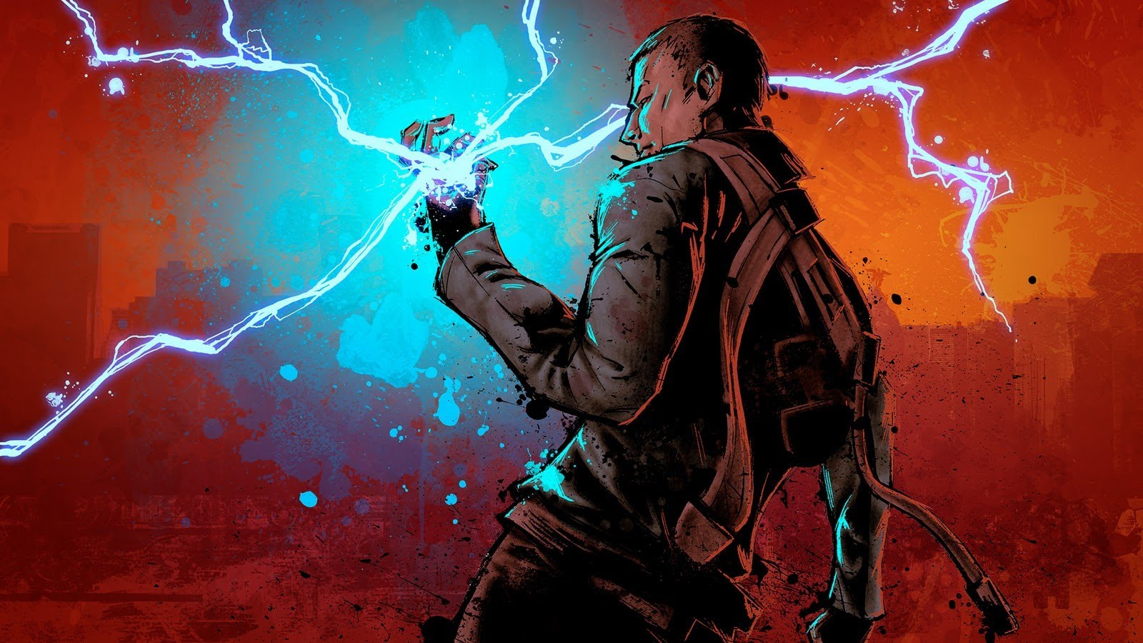HD Quality Wallpaper | Collection: Video Game, 1600x900 InFAMOUS