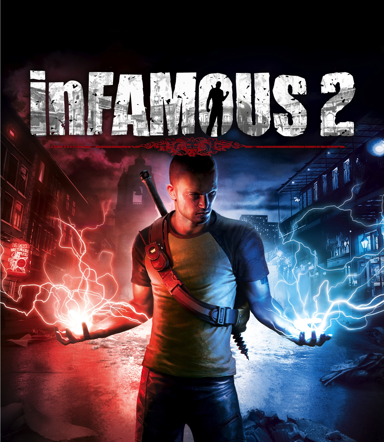 Nice wallpapers InFAMOUS 2 1526x1756px
